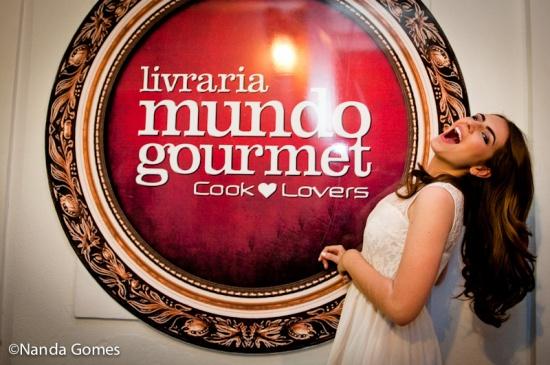 Viva à Livraria Gourmet!